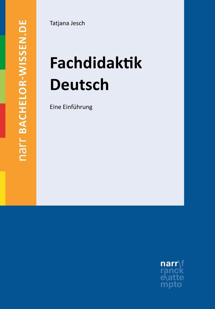Fachdidaktik Deutsch als eBook pdf