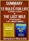 Summary of 12 Rules for Life: An Antidote to Chaos by Jordan B. Peterson + Summary of The Last Mile by David Baldacci 2-in-1 Boxset Bundle