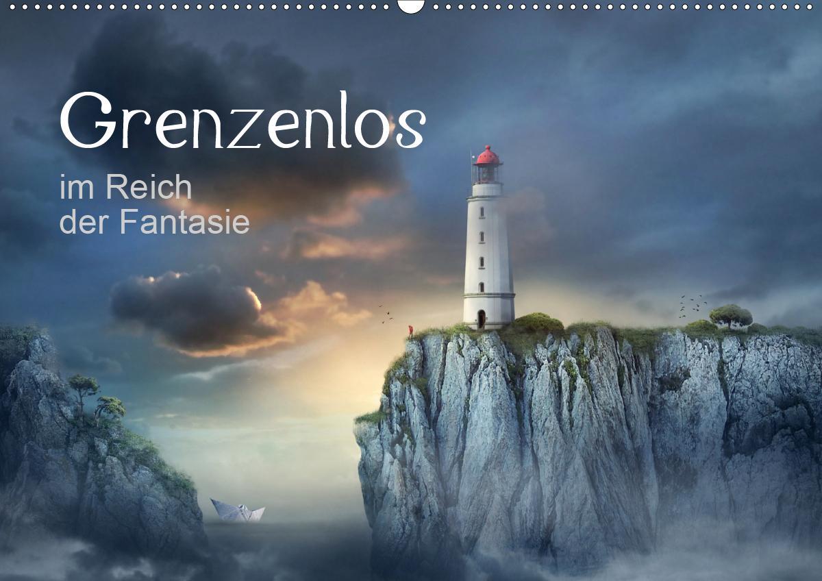 Grenzenlos im Reich der Fantasie (Wandkalender 2021 DIN A2 quer)