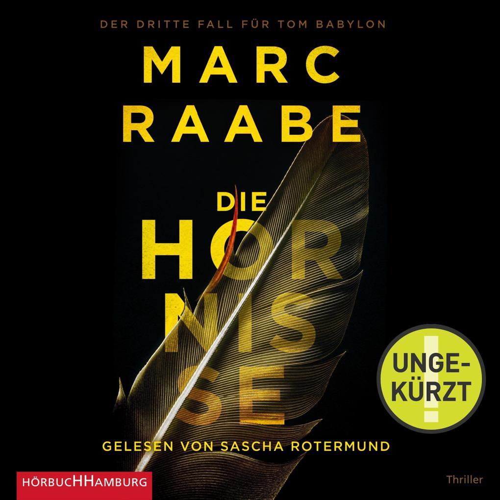 Die Hornisse (Tom Babylon-Serie 3) als Hörbuch Download