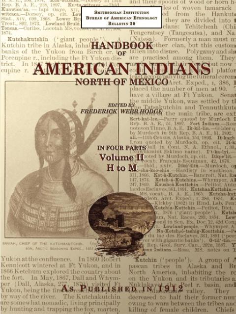 Handbook of American Indians North of Mexico V. 2/4 als Taschenbuch