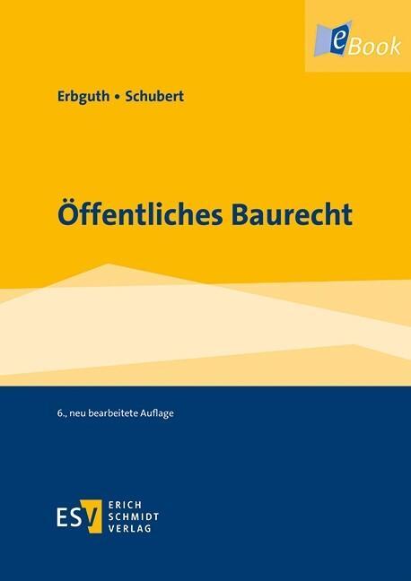 Öffentliches Baurecht als eBook pdf