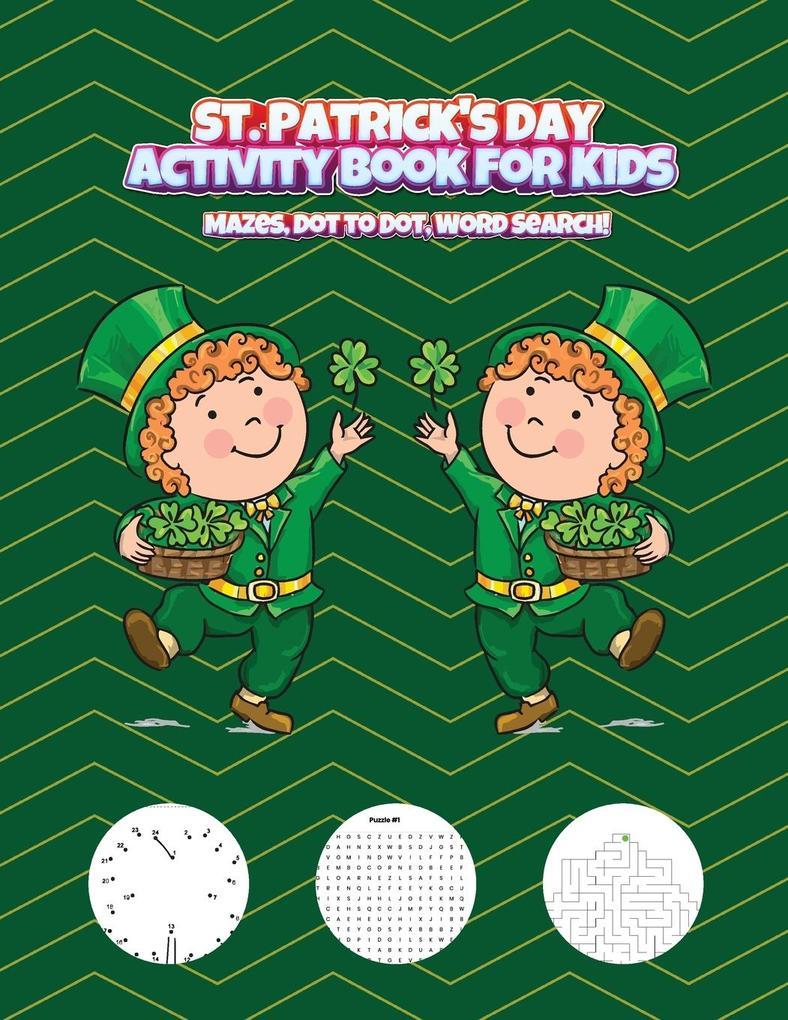 St. Patrick's Day Activity Book for Kids als Buch (kartoniert)