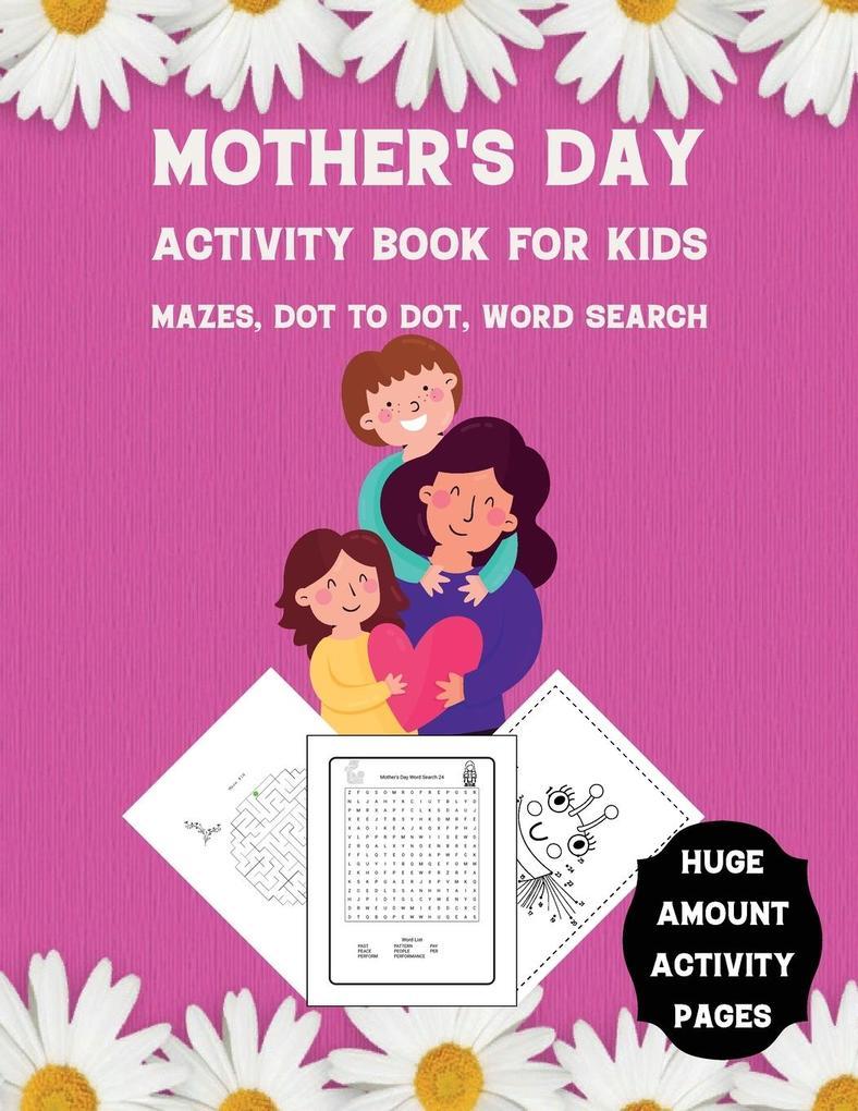 Mother's Day Activity Book for Kids als Buch (kartoniert)