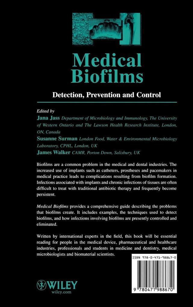 Medical Biofilms V 2