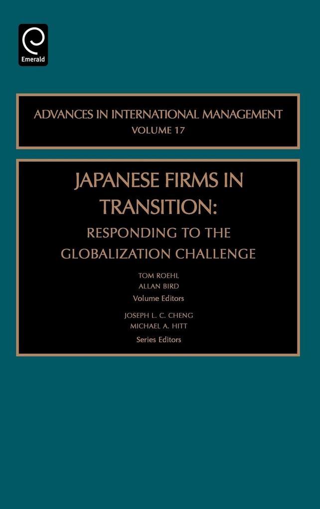 Japanese Firms in Transition als Buch von
