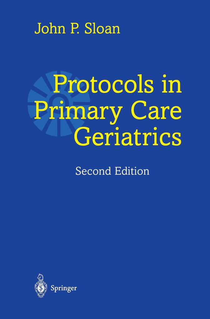 Protocols in Primary Care Geriatrics als Buch