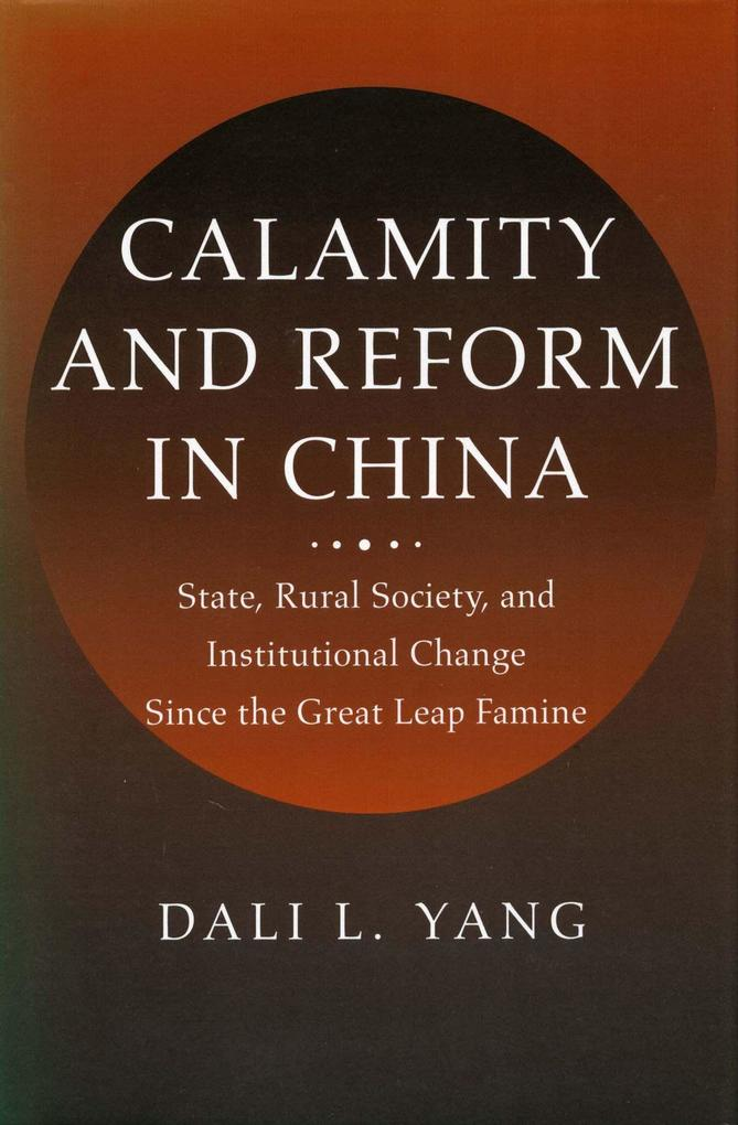 Calamity and Reform in China als Buch (gebunden)