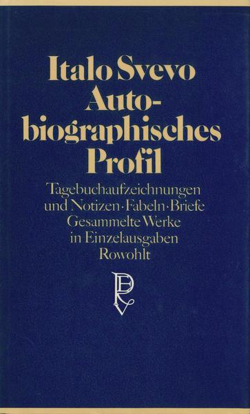 Autobiographisches Profil als Buch