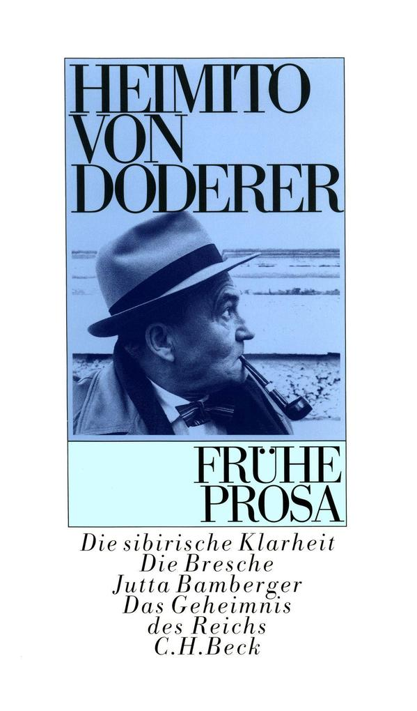 Frühe Prosa als Buch