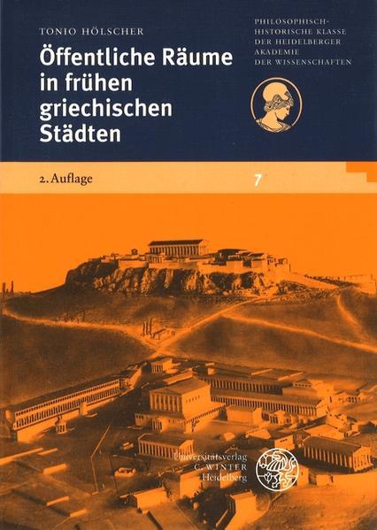 Öffentliche Räume in frühen griechischen Städten als Buch