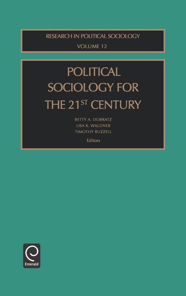 Political Sociol 21st Cent Rps12h