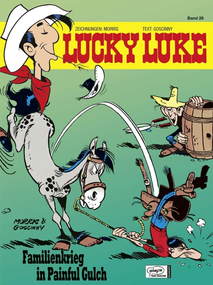 Lucky Luke 26 - Familienkrieg in Painful Gulch als Buch