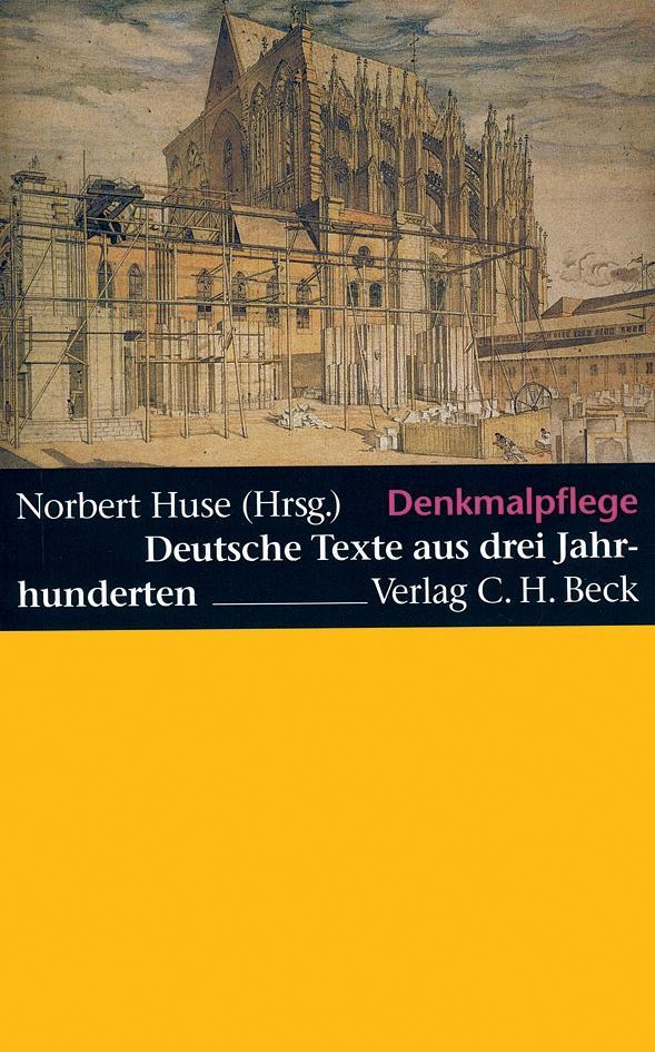 Denkmalpflege als Buch
