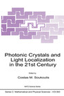 Photonic Crystals and Light Localization in the 21st Century