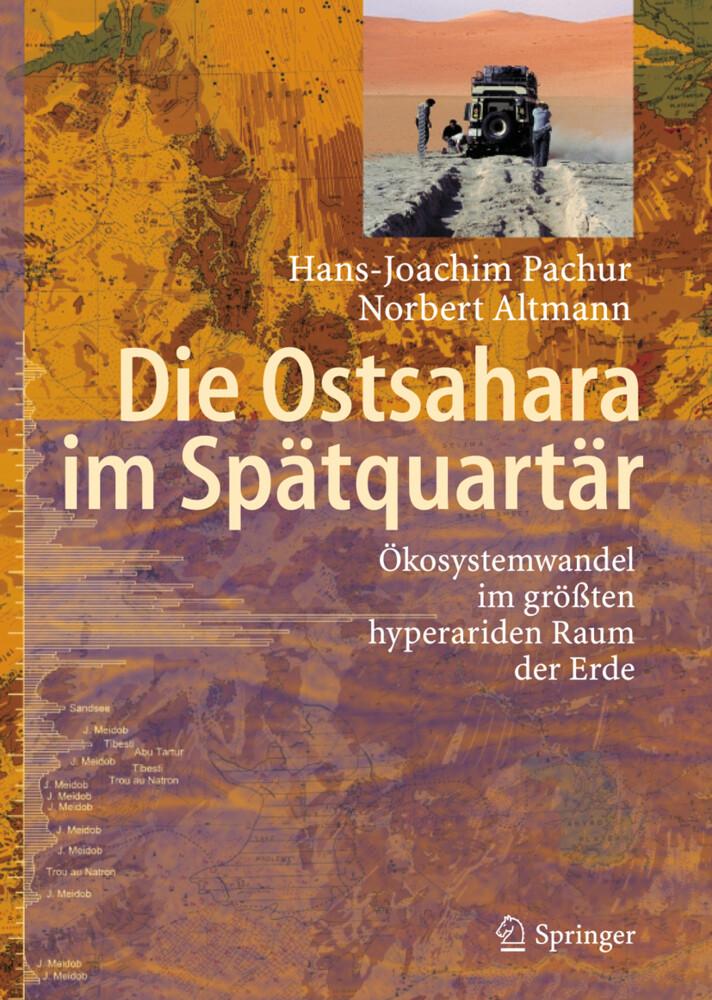Die Ostsahara im Spätquartär als Buch (gebunden)