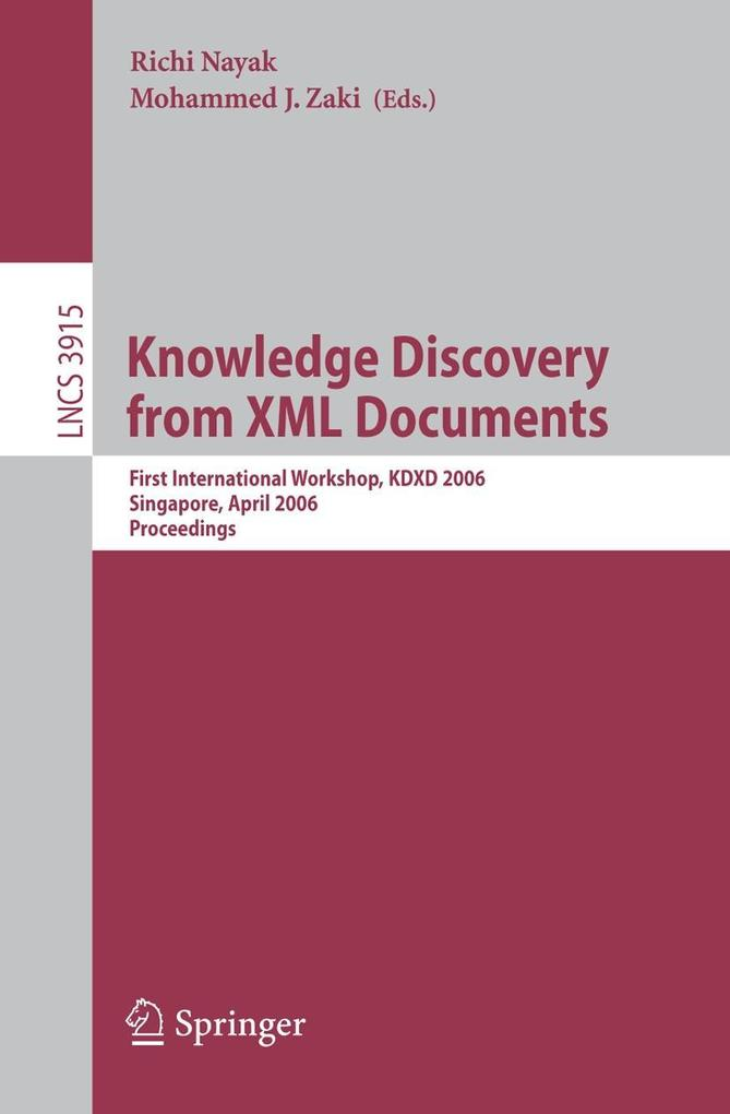 Knowledge Discovery from XML Documents als Buch...