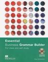 Essential Business Grammar Builder. Buch mit Audio-CD