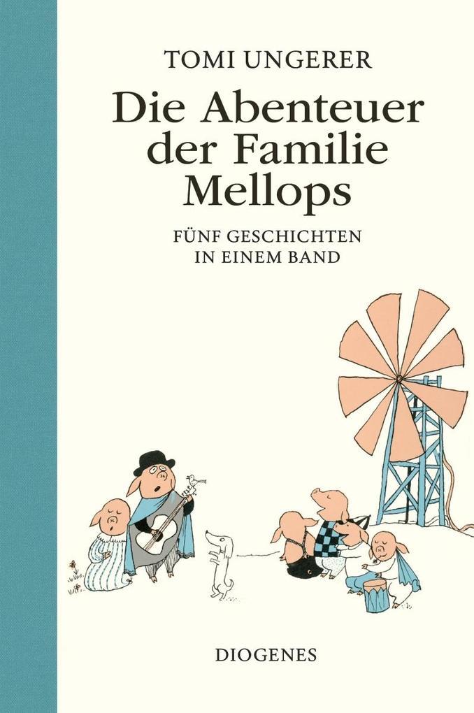 Die Abenteuer der Familie Mellops als Buch