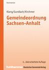 Gemeindeordnung Sachsen-Anhalt