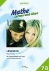 Mathe - Lernen und Lösen Klasse 7+8 Lösungen