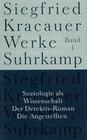 Soziologie als Wissenschaft / Der Detektiv-Roman / Die Angestellten