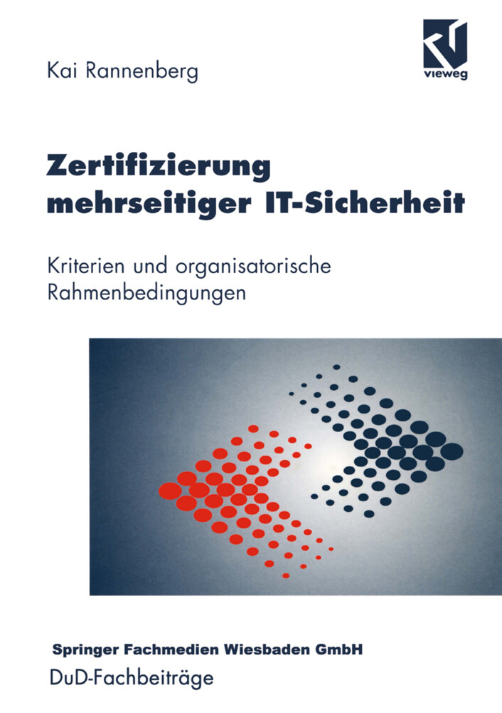 Zertifizierung mehrseitiger IT-Sicherheit als Buch (kartoniert)