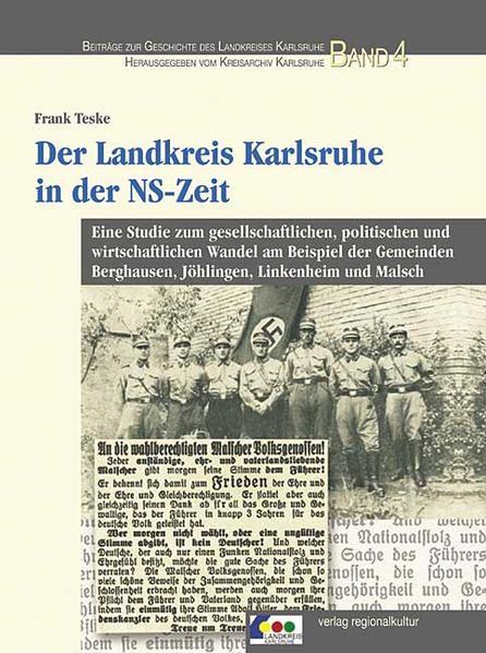 Der Landkreis Karlsruhe in der NS-Zeit als Buch (gebunden)