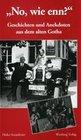Geschichten und Anekdoten aus altem Gotha