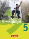 New Highlight. Allgemeine Ausgabe 5: 9. Schuljahr. Schülerbuch