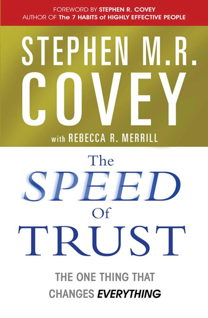 The Speed of Trust als Taschenbuch