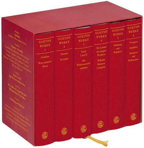 Werke in 6 Bänden als Buch von Johann Wolfgang von Goethe
