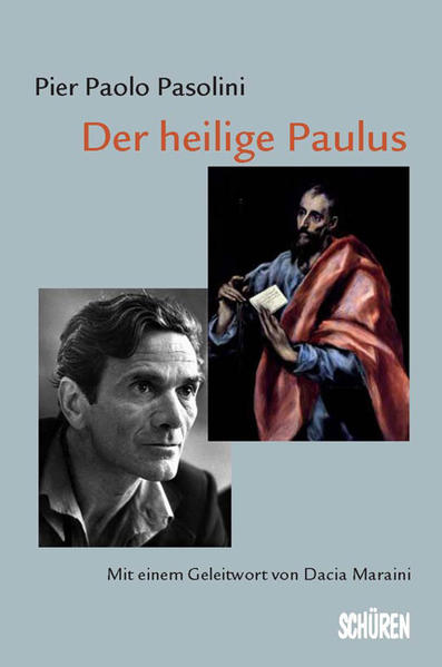 Der heilige Paulus als Buch von Pier P. Pasolini