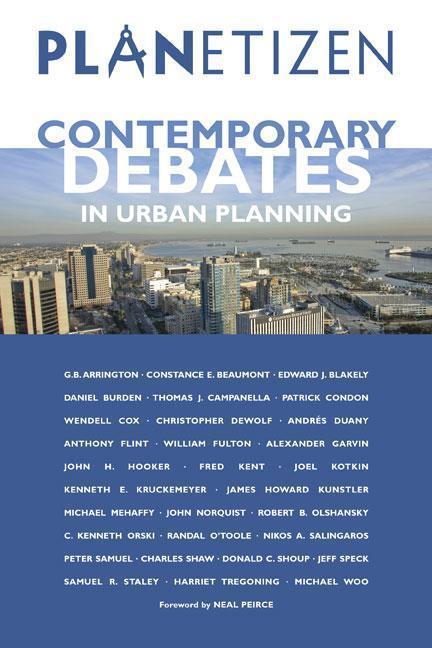 Planetizen Contemporary Debates in Urban Planning als Taschenbuch