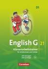 English G 21. Ausgabe D 1. Klassenarbeitstrainer mit Lösungen und CD