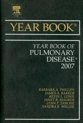 The Year Book of Pulmonary Disease als Buch