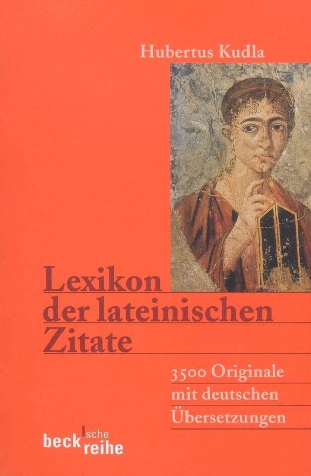 Lexikon der lateinischen Zitate als Taschenbuch