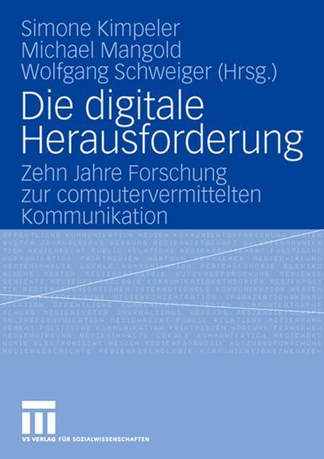 Die digitale Herausforderung als Buch von