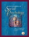 Encyclopedia of Social Psychology 2 Vol Set