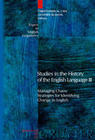Studies in the History of the English Language III