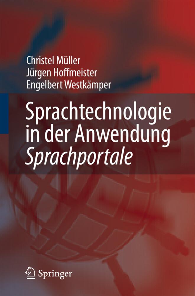 Sprachtechnologie in der Anwendung - Sprachportale als Buch von