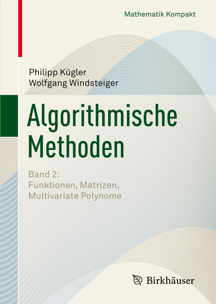 Algorithmische Methoden 2 als Buch
