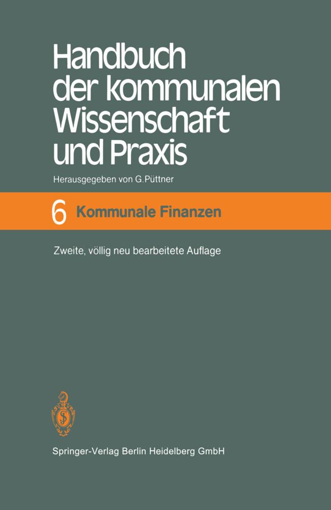 Handbuch der kommunalen Wissenschaft und Praxis als Buch von