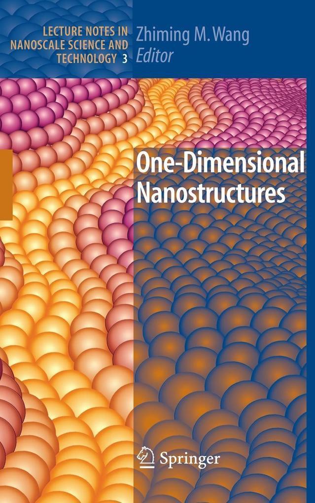 One-Dimensional Nanostructures als Buch von