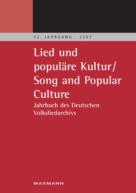 Lied und populäre Kultur - Song and Popular Culture als Buch