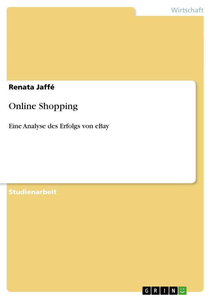 Online Shopping als Taschenbuch von Renata Jaffé