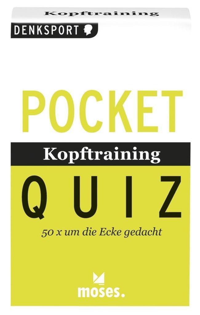 Pocket Quiz Kopftraining als Buch