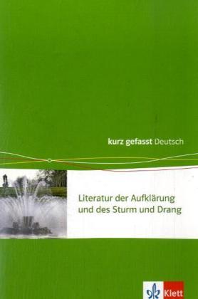 Aufklärung/Sturm und Drang. 11.-13. Klasse als Buch