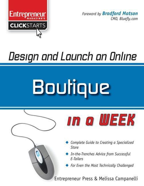 Design and Launch an Online Boutique in a Week als Taschenbuch
