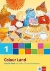 Colour Land. Für den Beginn ab Klasse 1. Pupil's Book mit CD-ROM und Audio-CD 1. Schuljahr